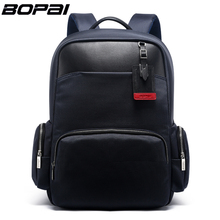BOPAI Brand External USB Charge Computer Bag Shoulders Anti-theft Notebook Backpack 15 inch Waterproof Laptop Backpack for Men