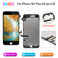 20PCS Wholesale Full Set For iPhone 7 Plus LCD Display Touch Screen+Front camera Digitizer Assembly Replacement