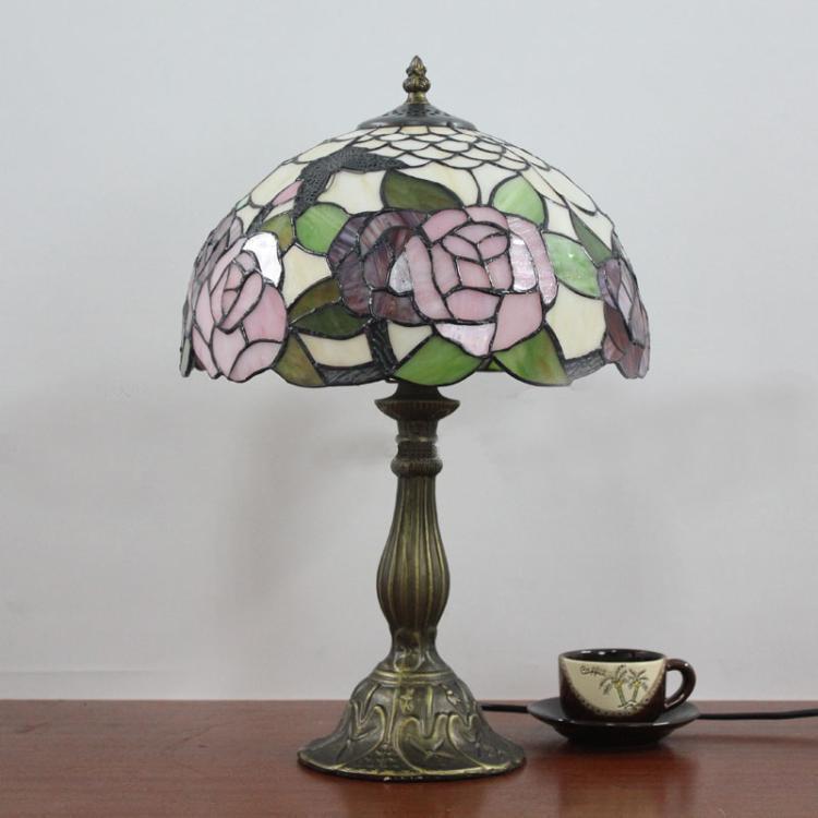 Lamparas Color Glass Led Table Lamp Hand Made Tiffany Desk: Popular Plastic Tiffany Lamps-Buy Cheap Plastic Tiffany