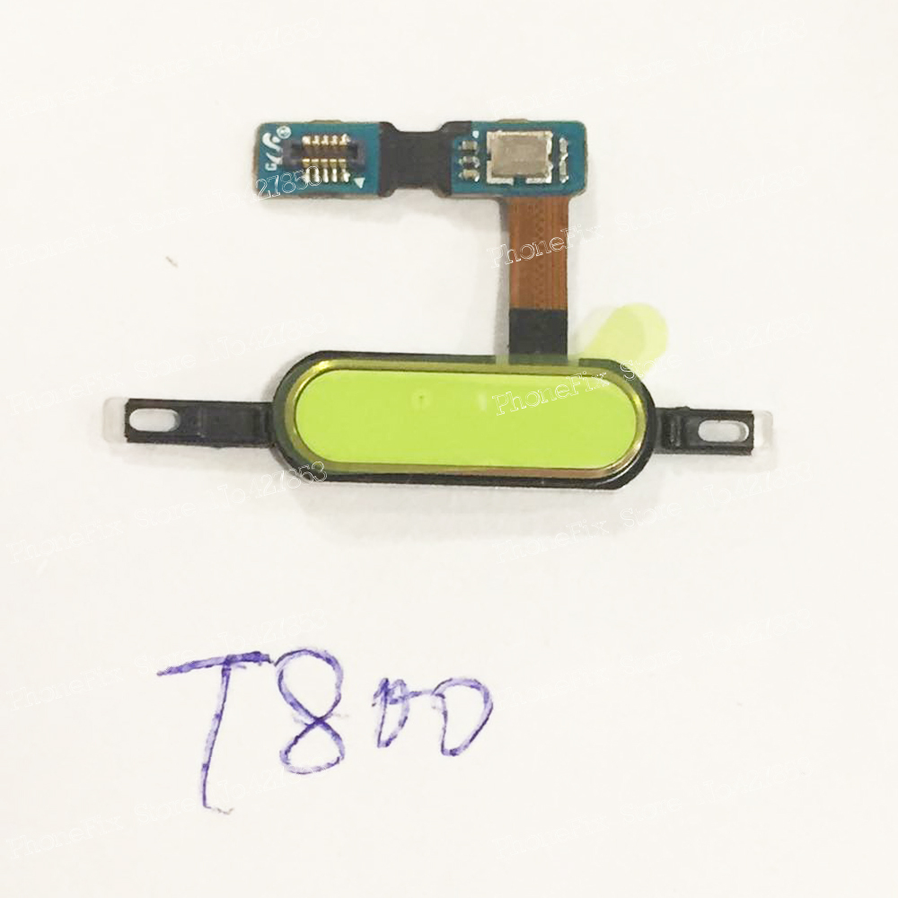 Home Button Main Flex Cable For Samsung Galaxy Tab S 10.5 T800 T801 T805 Free Shipping
