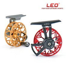 leo Full metal ultra-light former ice fishing reel fishing round fly fishing reel HF50 HE50
