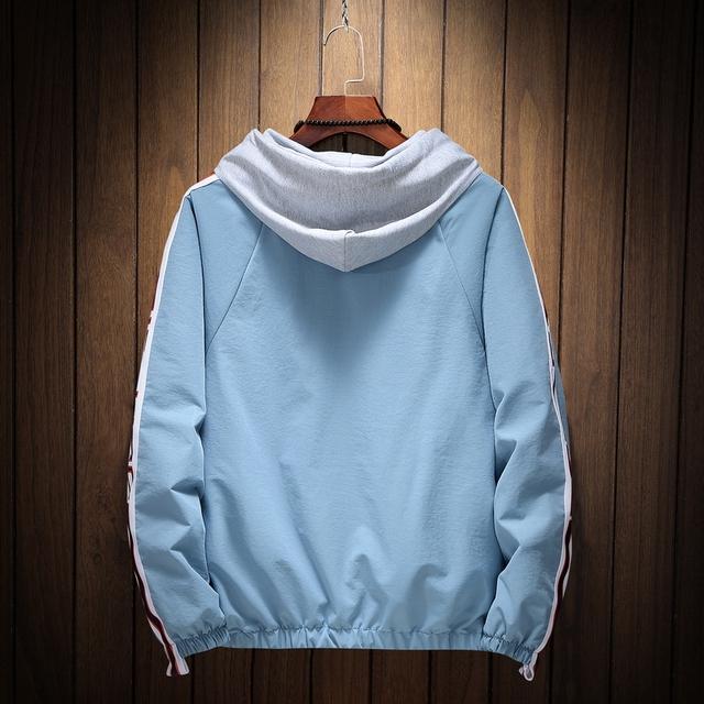 Menn Sommer Hooded Solkrem jakker