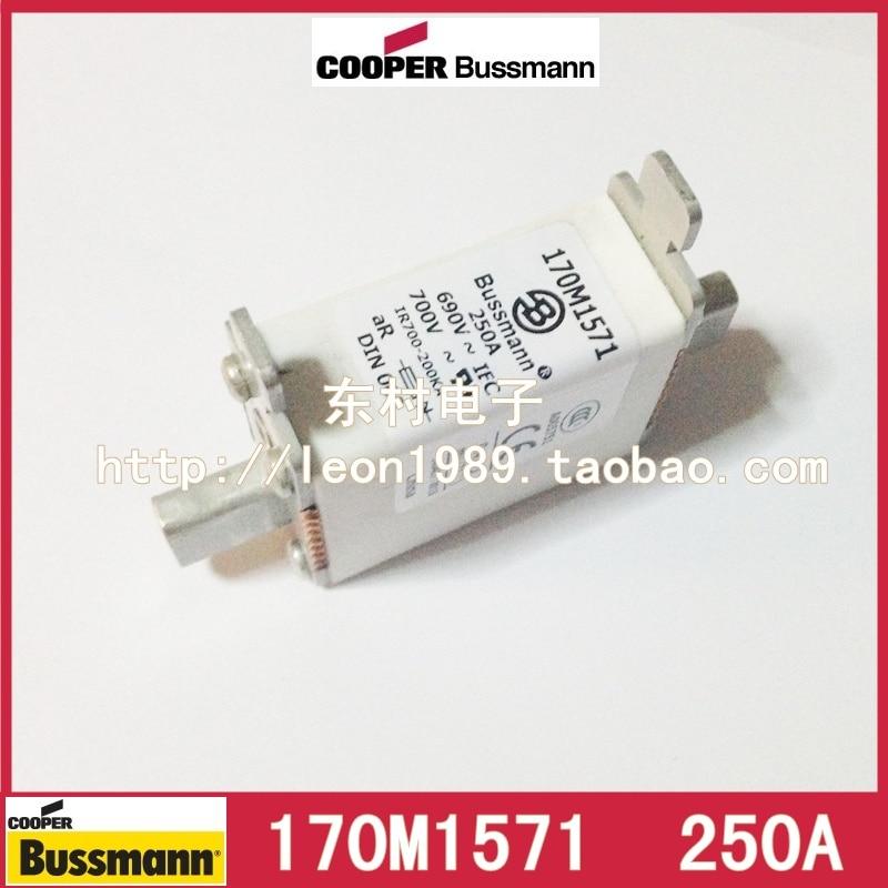 ФОТО United States Cooper Bussmann fuse 170M1571 170M1571D 250A 690V fuse