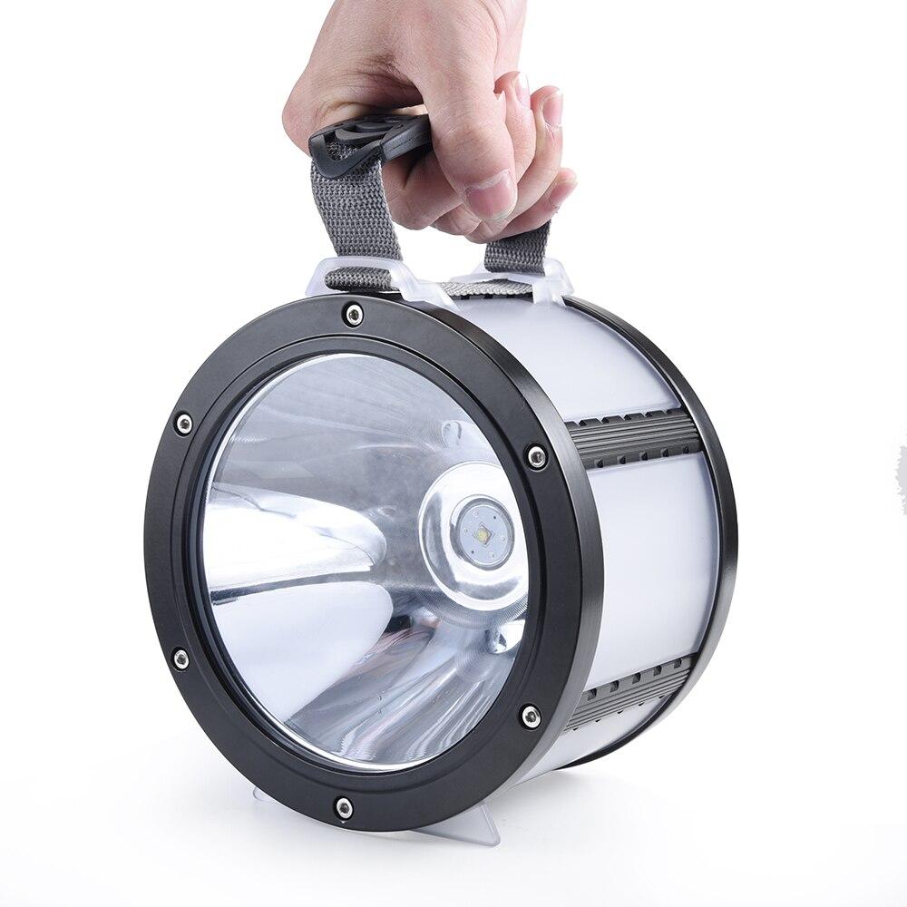 SKYWOLFEYE фонарик светодио дный супер большой ручной Лампа Отдых Пеший Туризм тактический высокой Мощность Self освещения Перезаряжаемые USB 7 реж
