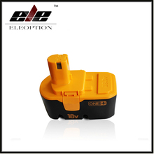 Eleoption Brand New 18V 2000mAh Power Tool NI MH Rechargeable Battery Pack Replacement for RYOBI ABP1801