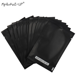 Image 4 - 1000 pairs Eyelashes Paper Patches Tips Sticker Wraps Under Eye Pads Black Package For Makeup Tools Eyelash Extension