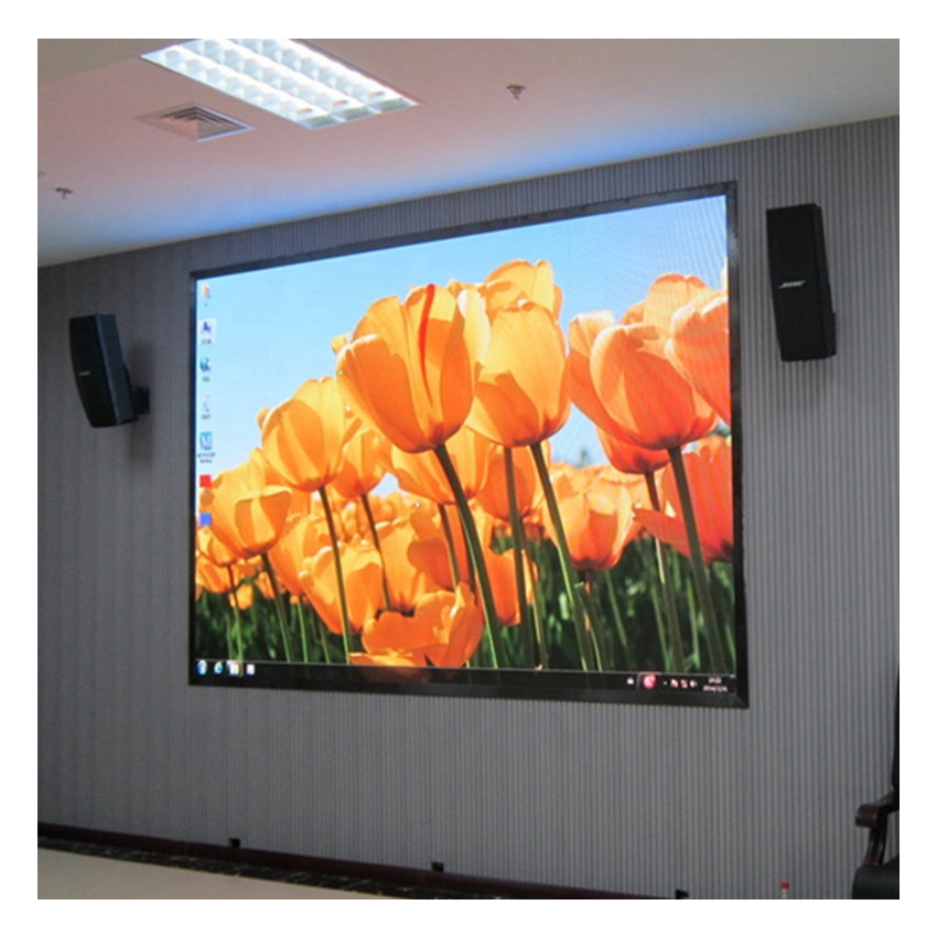 Indoor Full Color Led Video Wall Display P10 SMD 640X640mm Die Casting Aluminium Cabinet Rental Rgb Led Pantalla For Advertising