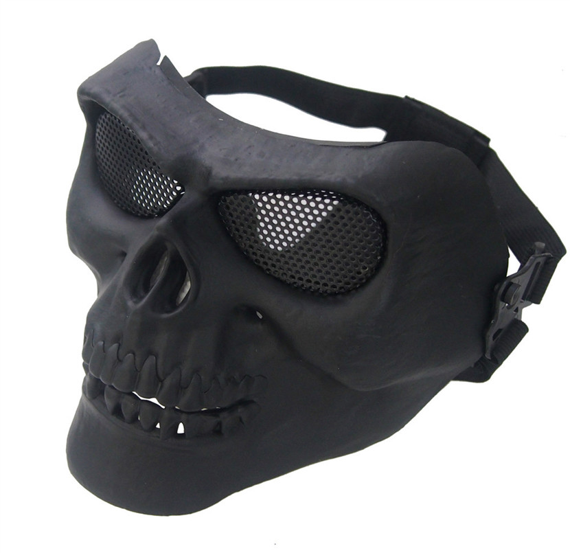 Cool Skull Multi Intball CS Face Mask Ski Bike Motorcycle Outdoor Sports Wear 2019 shield mask