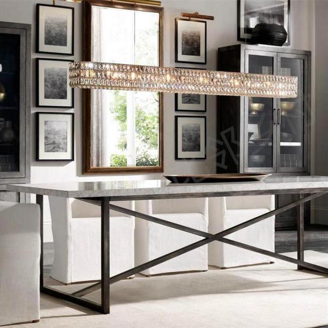 New Crystal Chandelier Original Design Creative Art Decorative Light Guest Dining Room Luxury Chandeliers Led Lamp
