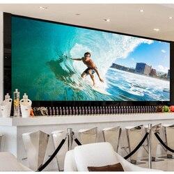 Nueva generación HD, 2 K, 4K 8K P1.875 televisión led interior panel 16:9 600x337,5mm de fundición de aluminio de gabinete de SMD led video pared pantalla