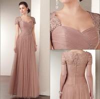Pretty Girl Wiht Sleeve Purple Grey Royal Blue Elegant Party Plus Size 2014 Formal Plus Size