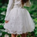 Baby to Big girls lovely Fluffy soft lace Pettiskirt Solid Colors tutu skirts girl Dance Skirt Christmas Tulle Petticoat