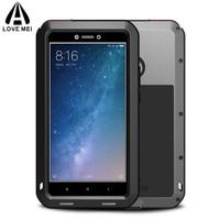 Metal Aluminum Phone Cover Xiaomi Mi Max 3 Case Max3 Armor Shockproof Xiaomi Mi Max 2 Case For Xiaomi Mi Max 2 3 +Gorilla Glass