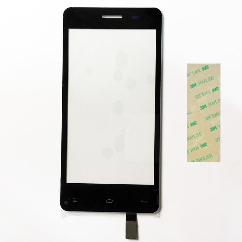 4.5 дюймов touch Экран для Fly IQ4403 IQ 4403 Energie 3 Сенсорный экран Сенсор касания Панель черный Цвет + 3 м Клейкие ленты ...