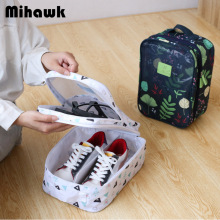 Mihawk Portable Shoes Bags Travel Cosmetic Makeup Case Bra Zip Pouch U