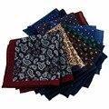 Мужские носовые платки британского стиля, несколько цветов на выбор