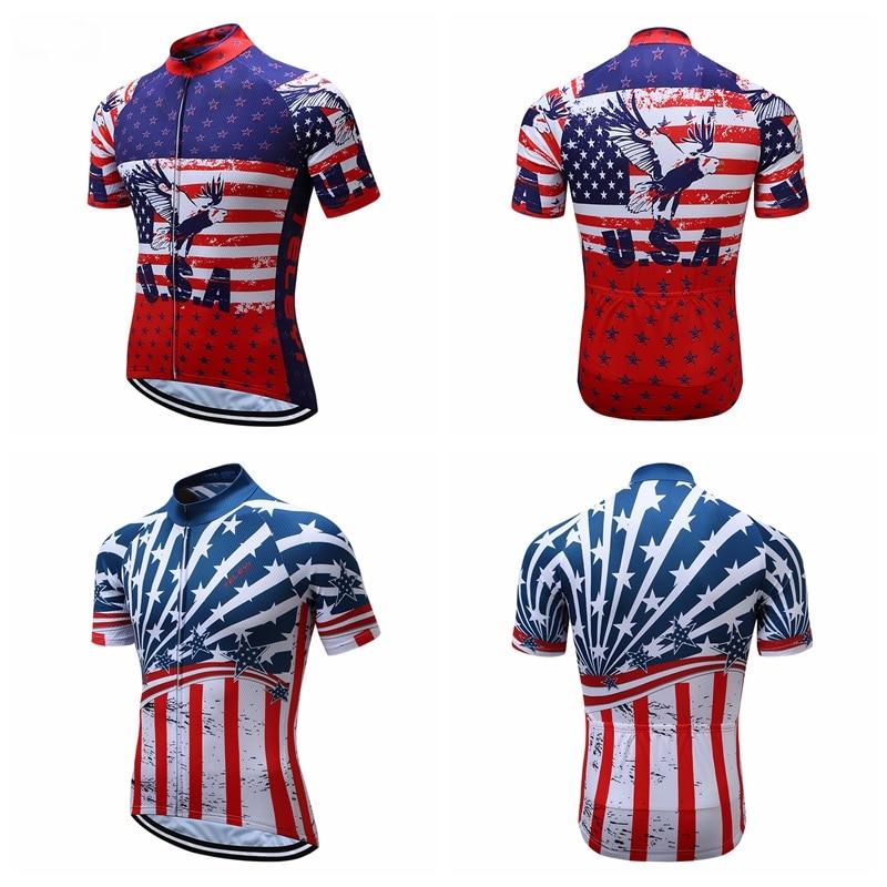Weimostar Men Cycling  Sleeve Bike Jersey  Dot Bicycle Shirt  Tops XS-4XL