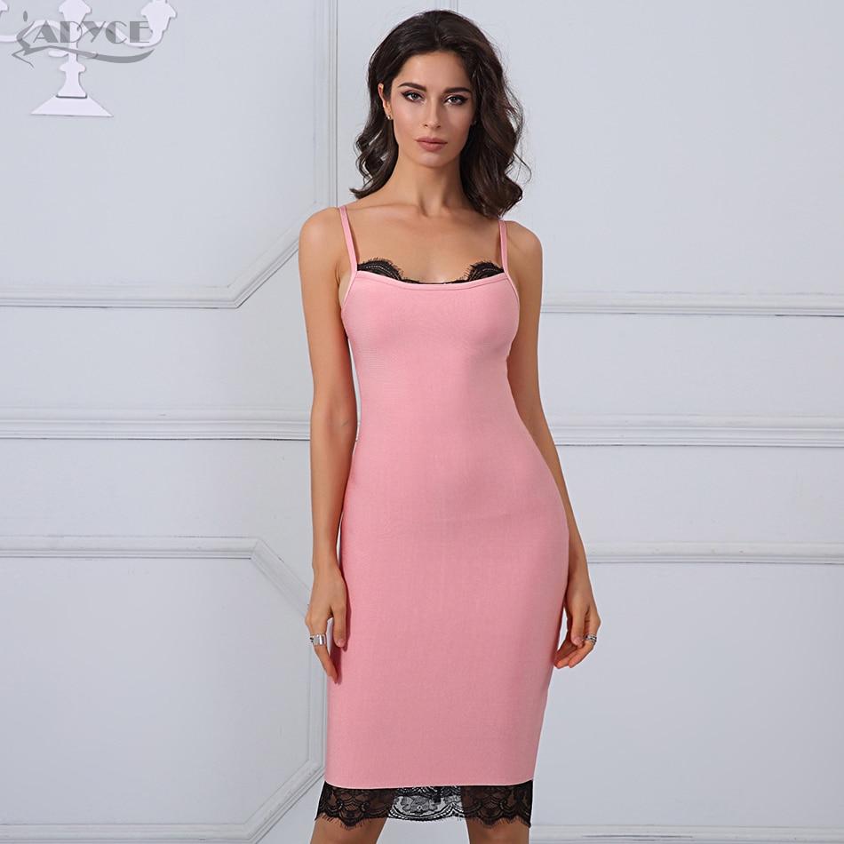 ④Adyce 2017 Nuevo vestido de verano Foral Encaje patchwork sexy sin ...
