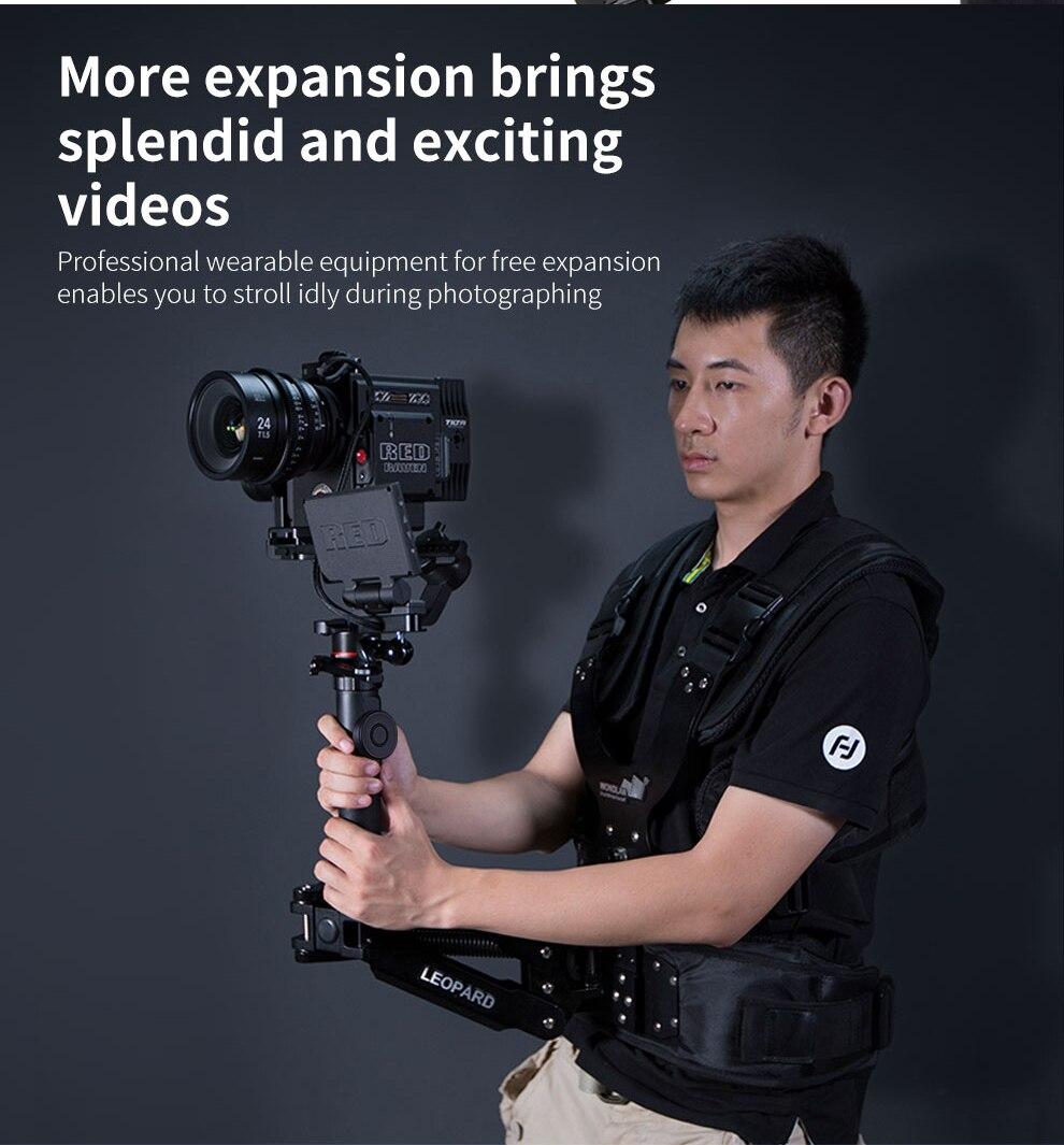 Image 5 - FeiyuTech AK2000 AK2000s 3 Axis Camera Stabilizer Gimbal for DSLRs Sony Canon 5D Panasonic GH5 Nikon 2.8 kg PayloadCardan à tenir à la main   -