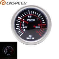 CNSPEED Auto Car Turbo Boost Gauge -1~0~2 BAR 2