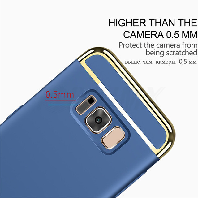 Shockproof Hard Phone Case For Samsung Galaxy A3 A5 A7 J3 J5 J7 2016 2017 S7 Edge S8 S9 A8 Plus 2018 Back Cover Protection Case