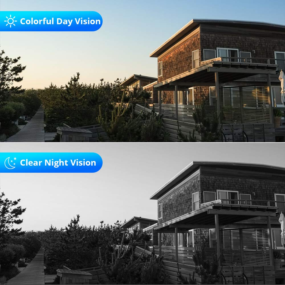 Hiseeu CCTV System Night Vision
