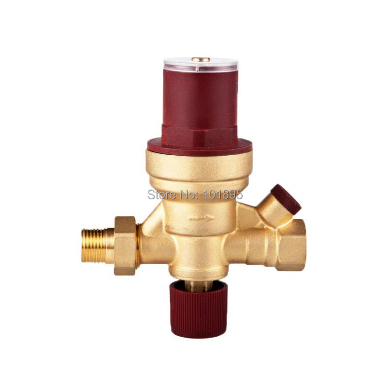 Brass Material 1/2 Wall-Hung Boiler Heating And Cooling Brass Automatic Water Supply Valve dn15 automatic bypass valve for wall mounted boiler system