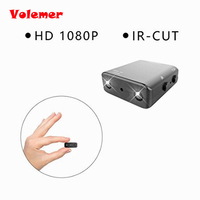 Volemer Smart IR CUT Camera Smallest 1080P HD Camera XD Mini Camcorder Micro Infrared Night Vision