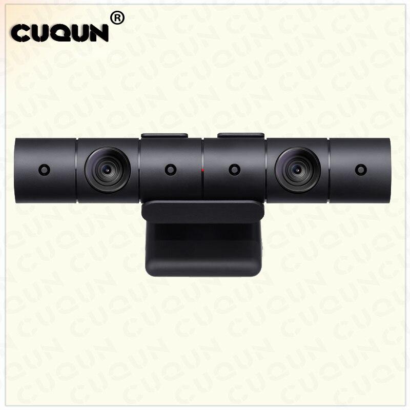 Caméra somatosensory de démontage d'occasion pour la caméra de capteur de mouvement des yeux PS4 pour Sony Playstation 4 console de jeu station 4 argent