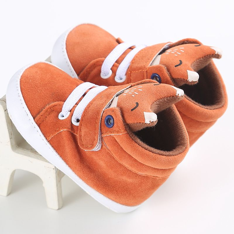 1-3 Year Infant Baby Shoes Children Boys Girls Animal Style Casual Cotton Kids Shoes High Heel Hot Sale