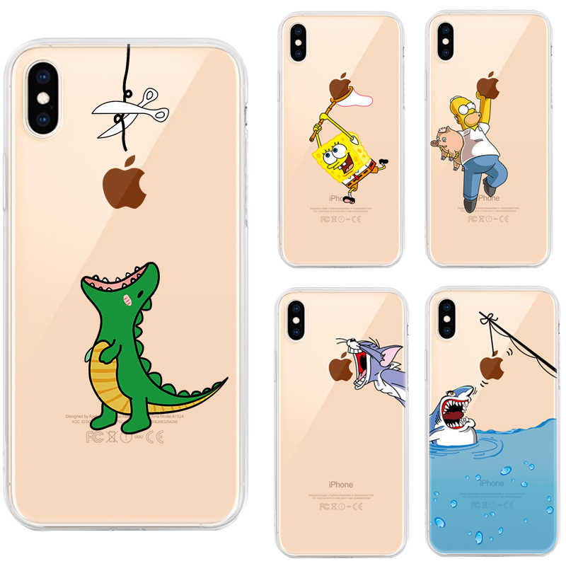 Muster Telefon Fall für iPhone XS MAX 7 6s 6 Plus 8 8Plus iPhone7 iPhone8 Silikon Soft Cover für iPhone 11 10 X XR 11 Pro Max