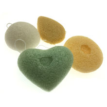 New Natural Active Plant Konjac Cleansing Cotton Bamboo Charcoal Cleaning Flapping Amorphophallus Konjac Skin Care Tools