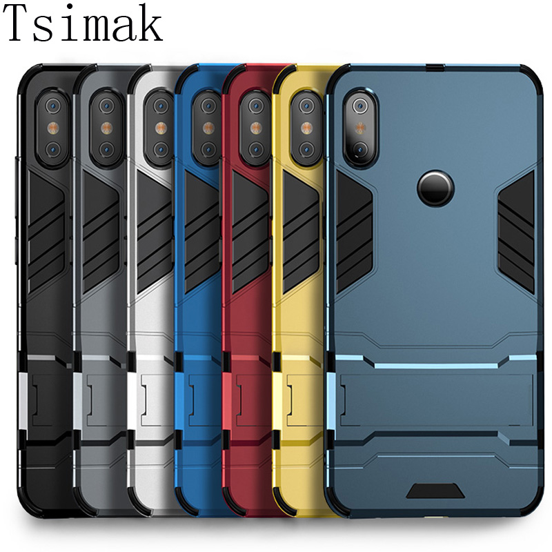 Case For Xiaomi Redmi Note 7 6 Pro 5 Plus 4X 4A 5A 6A S2 A1 A2 Lite Mi 8 SE 6 5X 6X Pocophone F1 Max 2 Mix 3 Cover Armor Coque