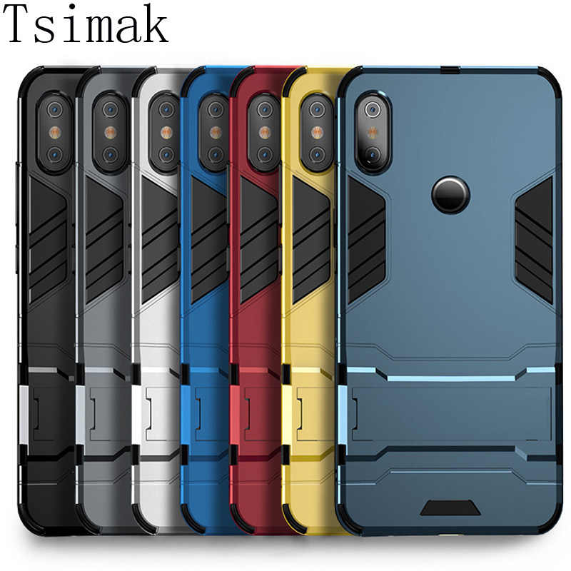 Case For Xiaomi Redmi Note 7 6 Pro 5 Plus 4X 4A 5A 6A S2 A1 A2 Lite Mi 8 SE 6 5X 6X Pocophone F1 Max 2 Mix 3 Cover Armor Coque