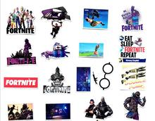 46pcs/lots For Fortress Night Stickers PS4 Console Controller Game for iPad Phone Laptop Moto Car