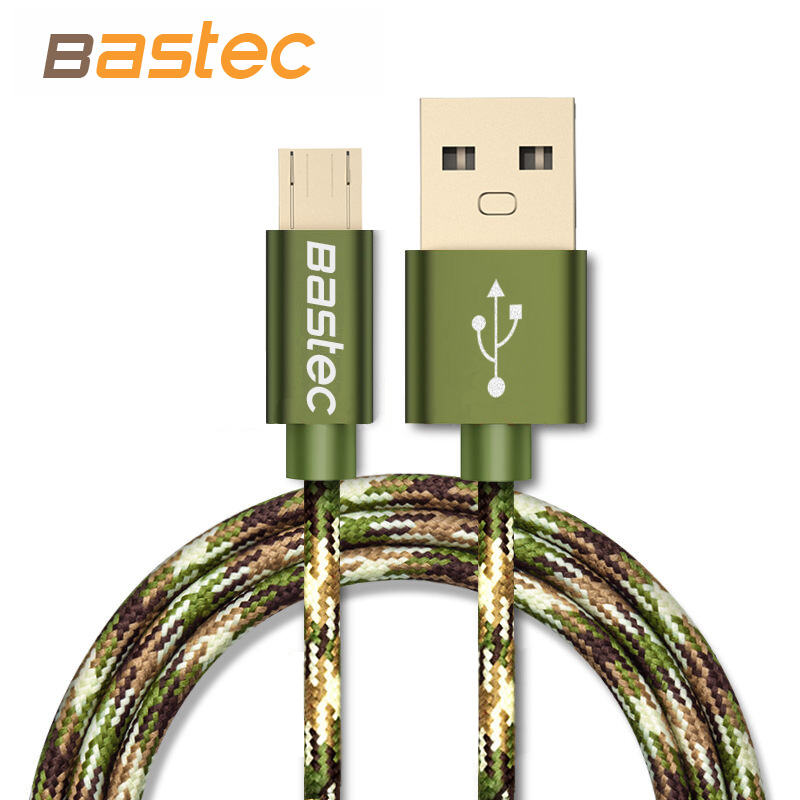 Bastec Camouflage Micro USB Cable Fast Charging Mobs