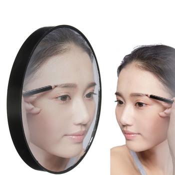 Nowa gorąca sprzedaż przenośne 10X ogromne powiększające kosmetyczne lustro do makijażu z przyssawkami lustra powiększające świetne do makijażu tanie i dobre opinie Makeup Mirror Glass Full Size 2-face Nie posiada sayoo
