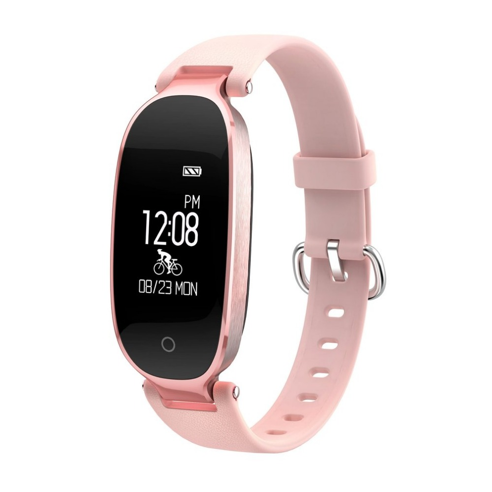 S3 Bluetooth Waterproof Smart Watch Fashion Women Ladies Heart Rate Monitor Fitness Tracker Smartwatch for Android IOS A40 все цены