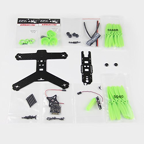 JMT 210 / 210GT KIT RC Racing Drone 210MM Carbon Fiber Frame High Strength Quadcopter Aircraft Green Red Options  F19953/7 jmt kingkong rc drone quadcopter carbon fiber 90gt frame