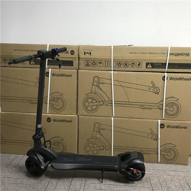 2019 Nova Mercane WideWheel Inteligente Elétrica Scooter De Roda Grande 48 V 500 W/1000 W Kickscooter Duas Rodas Bordo motor duplo Skate