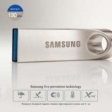 Samsung cle USB Flash Drive 32 ГБ 64 ГБ 128 ГБ USB 3.0 Металл флешки Memory Stick пользовательские логотип компании дропшиппинг устройства U диска
