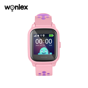 Image 3 - Wonlex KT04 1.3 inch IPS Water Resistance IP67 Swimming Watch Anti Lost with AGPS/LBS/WiFi GPS Positioning SOS Helper Smartwatch