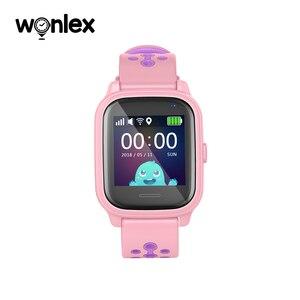 Image 3 - Wonlex reloj inteligente KT04 de 1,3 pulgadas, resistente al agua, IPS, IP67, natación, antipérdida, con AGPS/LBS/WiFi, posicionamiento GPS, SOS