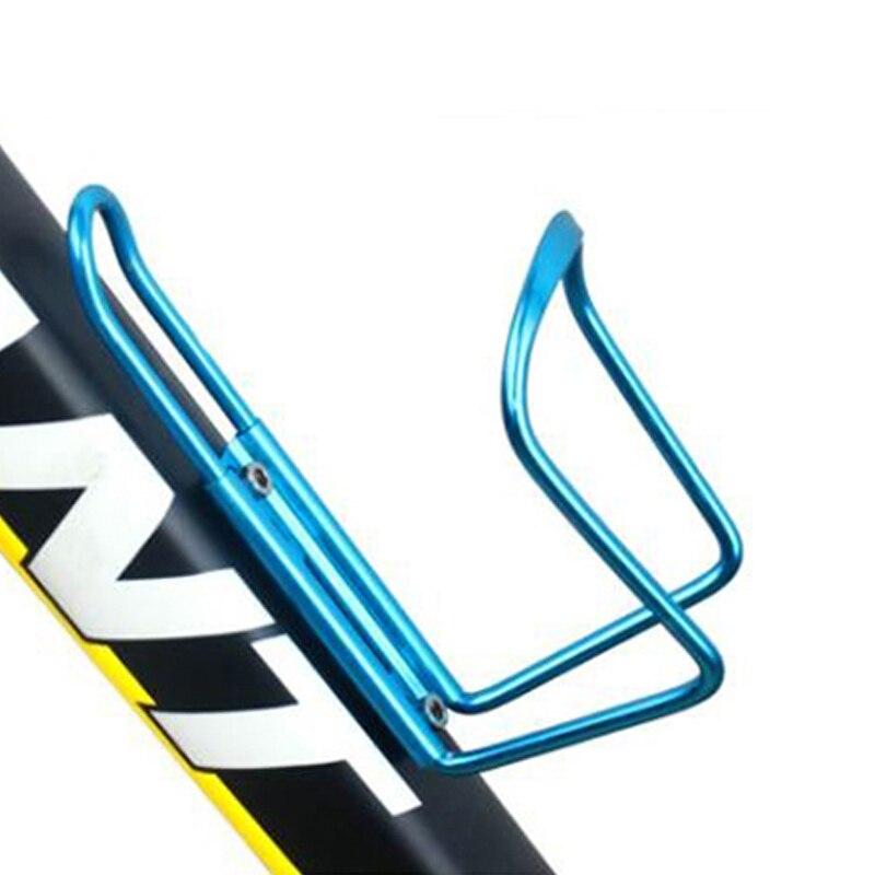 Alloy Mountain Bike Drink Cup Holder Beverage Water Bottle Handlebar Cage Rack