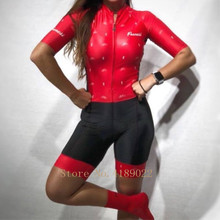 Frenesi skinsuit triathlon custom clothing bike cycling High quality sexy Body speedsuit jumpsuit jersey roupa ciclismo