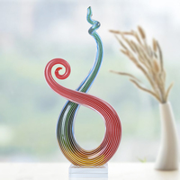 H&D Handmade Glass Unique Creative Style Blown Glass Crafts Room Adornment Home Decoration Creative Gift