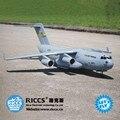 C17 transporte aviones modelo eléctrico de control remoto RC aviones de transporte eléctrico de la Nueva llegada