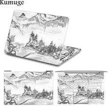 Laptop Sticker for Xiaomi Notebook Mi Air 12 13 Pro 15.6 Chinese Style Print Vinyl Decal Laptop Body Protective Skin for Xiaomi