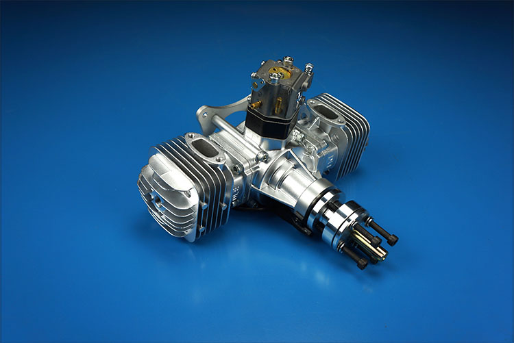 Original DLE60 60CC DLE Twin Cylinder 2-strokes Gasoline / Petrol Engine for RC Airplane