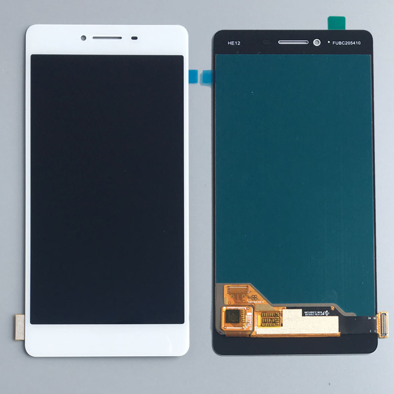 5.5 LCD Display Screen Touch Glass Digitizer Assembly White For OPPO R7S Original quality Replacement